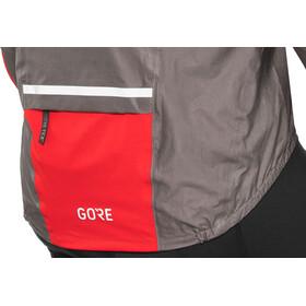 GORE WEAR C5 Gore-Tex Shakedry 1985 Vis Jacket Herrer, lava grey/red